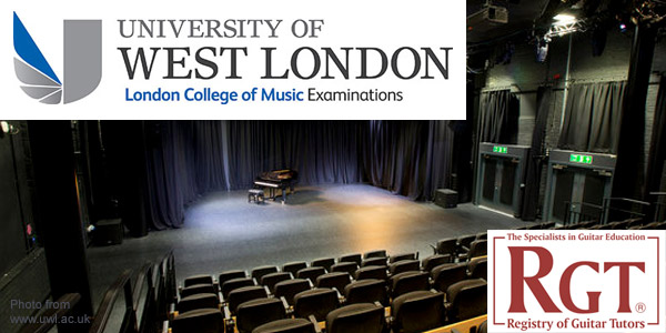 Συνεργασία του Ωδείου Σύγχρονη Ωδή με το University of West London - London College of Music Examinations, Registry of Guitar Tutors